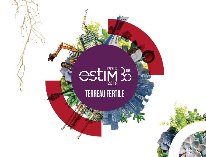Visuel estim 2018 pour la Chambre de commerce de l'Est de Montréal
